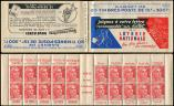 Lot n� 2329 -  - 813-C1    Gandon, 15f. rouge, n�813b, T II, S. 1, LOTERIE NATIONALE, TB