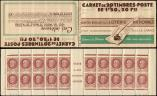 Lot n� 2326 -  - 517-C1    P�tain, 1f.50 brun, n�517, S.63, LOTERIE NATIONALE, 3 points blancs, Superbe